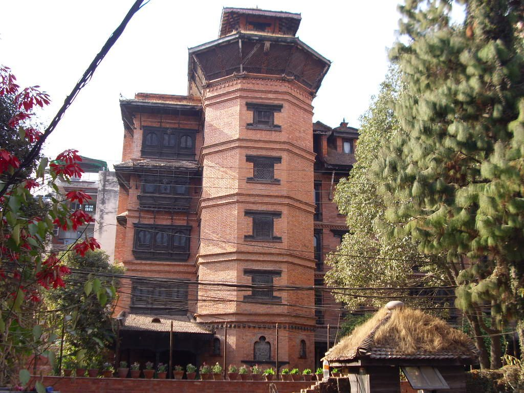 Kantipur Temple House from the parking area vis-a-vis of the hotel - Highslide JS