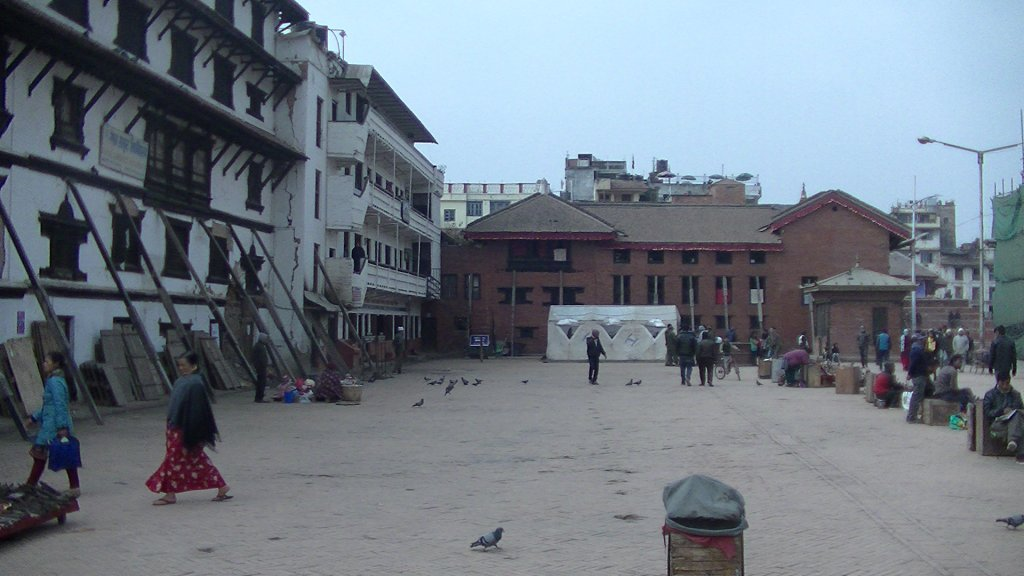 View to the Kumari Bahal from Basantapur - Highslide JS